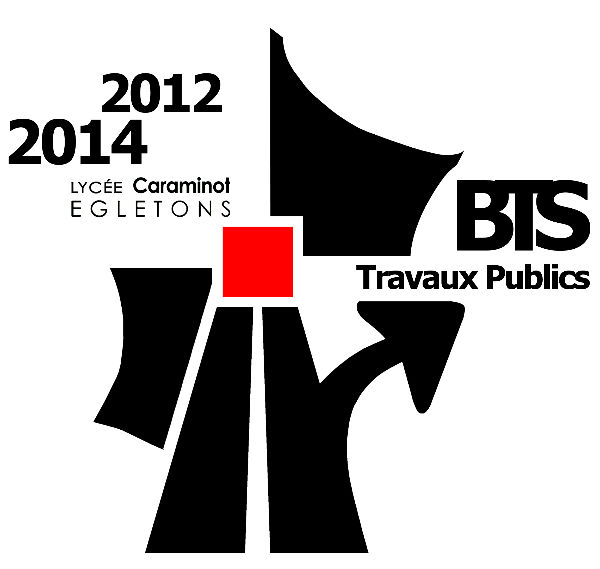 logo BTS TP lycee Caraminot promotion 2012-2014
